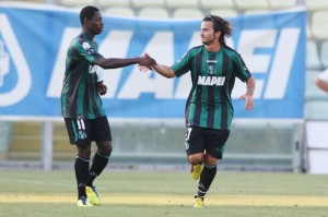 Red-hot Boakye-Yiadom sends Sassuolo to top of Serie B