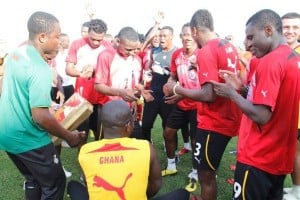 Video: Watch Ghana press conference ahead of Nigeria friendly