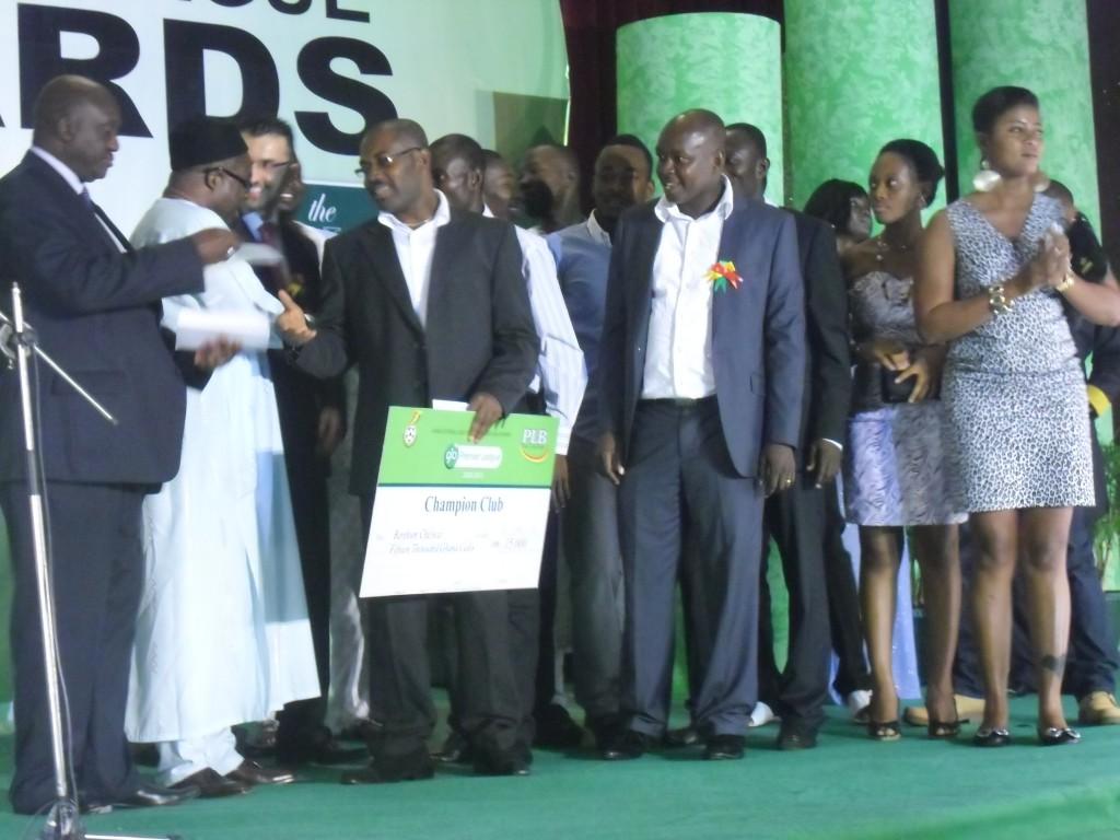 Ahmed Toure named Ghana Premier League best player