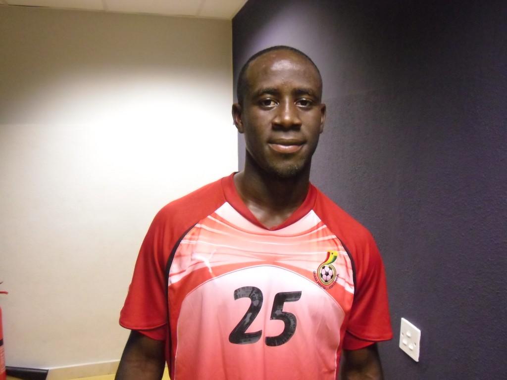 Adomah, Rabiu, Jordan set to play against Brazil