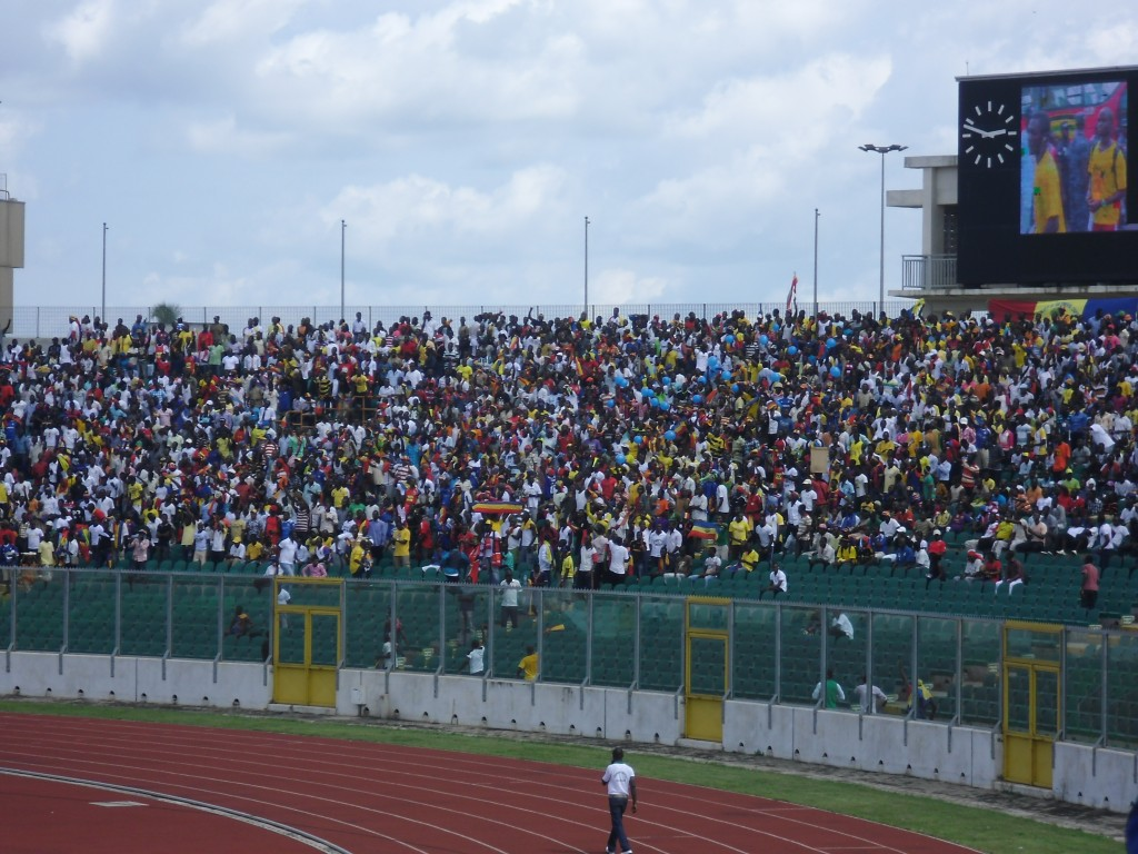 Timid Kotoko supporters not bothered by Hearts' show