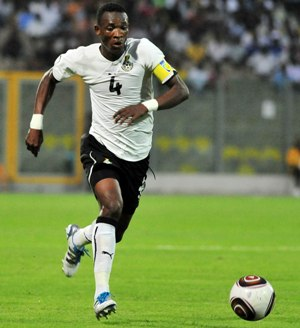 Ghana captain Pantsil warns Brazil