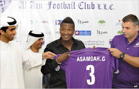 Asamoah Gyan's Al Ain debut delayed