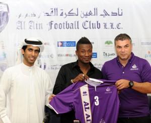 Al Ain keen on keeping Asamoah Gyan after loan stint