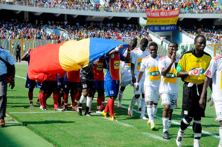 Hearts of Oak to play Asante Kotoko in Accra on 01 May as part of Ghana @60 celebrations