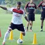 Kevin Boateng returns to training for AC Milan