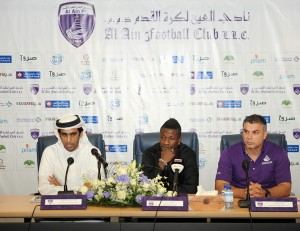 Video: Watch Asamoah Gyan's unveiling by Al Ain on Monday