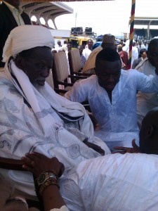 Muntari appearance at Eid prayers sparks excitement