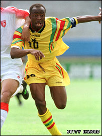Koufie challenges national team record of Abedi Pele