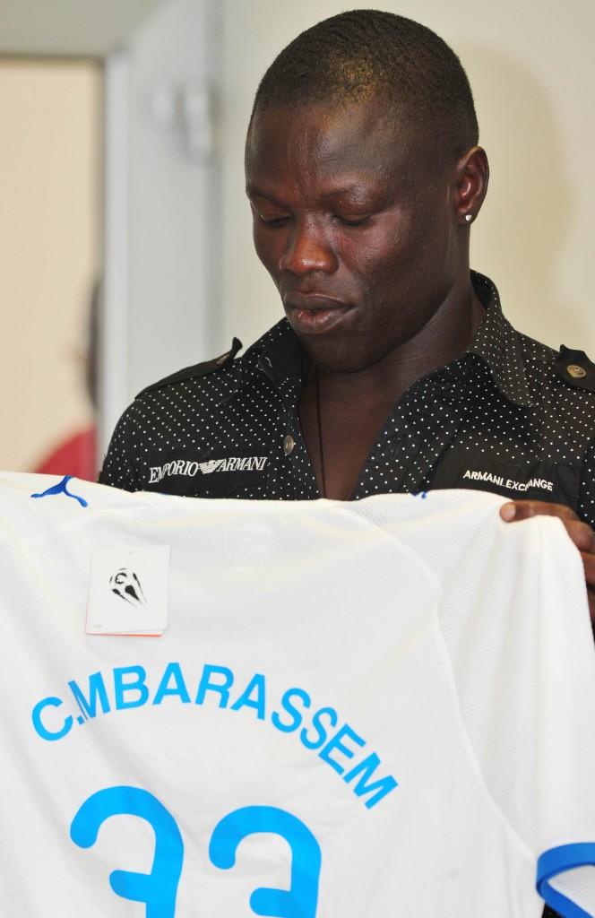 New Chelsea striker Mbarassem sets goal king target