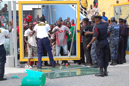 Medeama fans attack sports journalists after league win