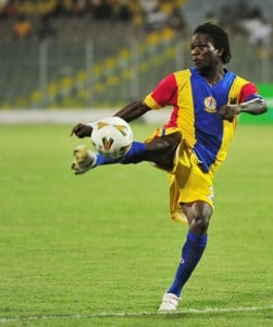 New sensation Ofori wants more play time at Hearts