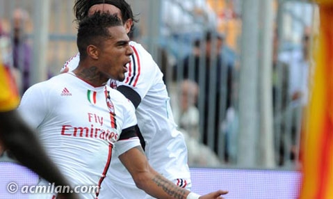 Kevin Prince Boateng in awe over hat-trick heroics