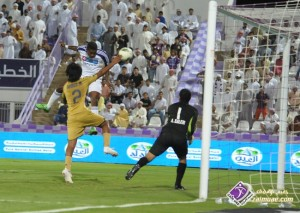 Asamoah Gyan fires two goals in the UAE top-flight