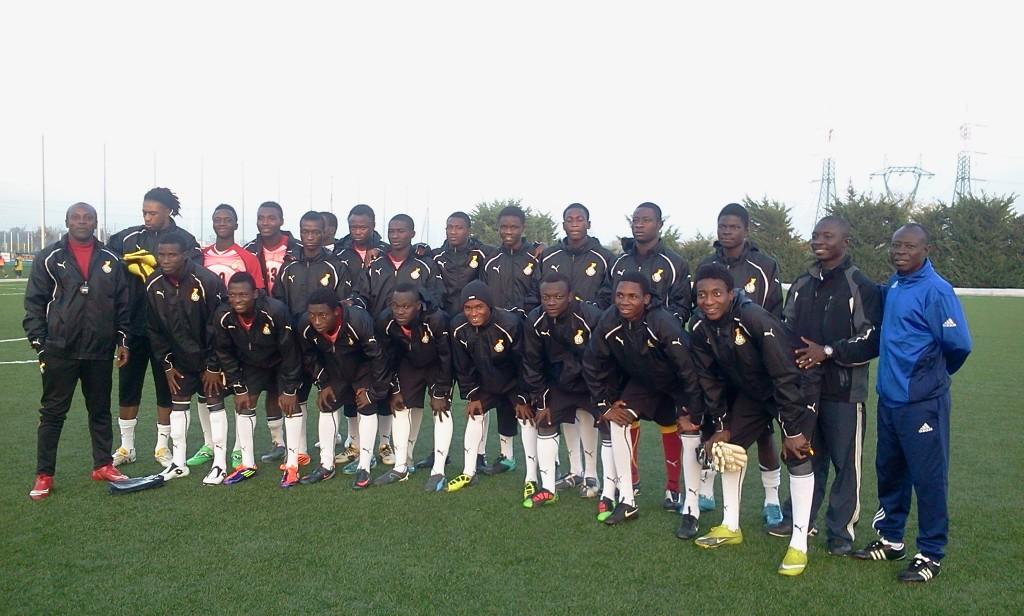 Ghana U20 to play Parma on Saturday