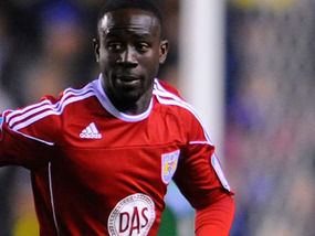 Ghana striker Albert Adomah scored to help struggling Bristol City seal a 3-1 victory over Burnley in the English second tier on Saturday.