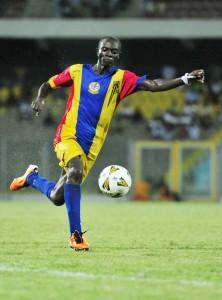 Uriah Asante's centenary gift to Hearts