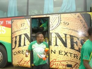 Kotoko striker Acheampong escapes car accident
