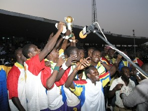 In Hearts' centenary: Kotoko were downed to win inaugral Confed Cup