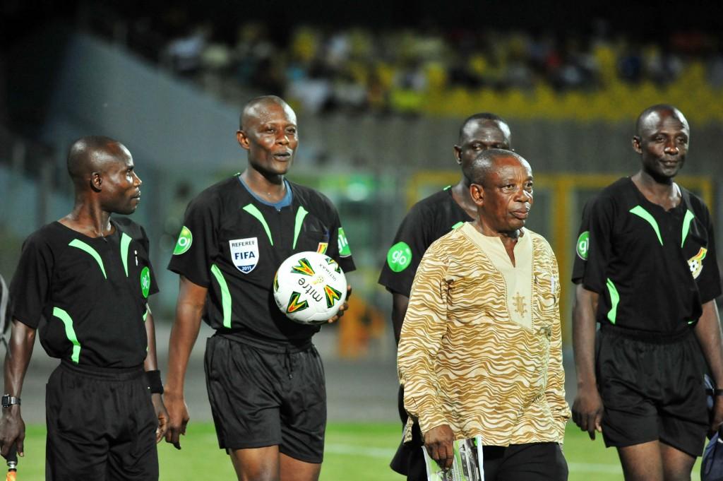 Edubiase striker Baffoe blames referee for halting goal scoring form