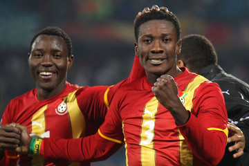 Asamoah Gyan relishes 2012 Afcon challenge