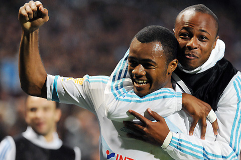 Andre excited by Jo Ayew rise at Marseille