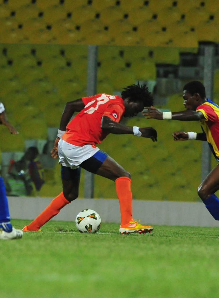 Edubiase striker Manu still eyeing Hearts move