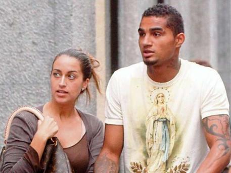 Divorce disaster strikes AC Milan star Kevin Prince Boateng