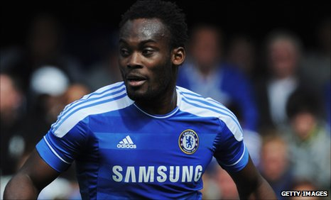 Michael Essien has handed under-pressure Chelsea manager Andre Villas-Boas some good news after returning to light training.