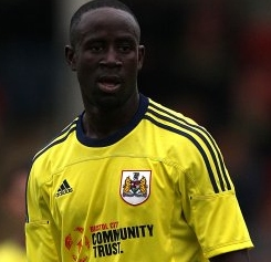 Bristol boss delighted Ghana dropped Adomah for Nations Cup