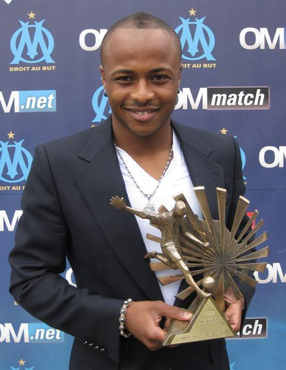 Andre Ayew dedicates BBC award to Black Stars teammates