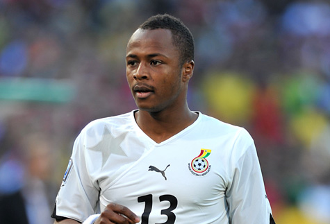 Andre Ayew arrives to contest Caf Player of the Year award