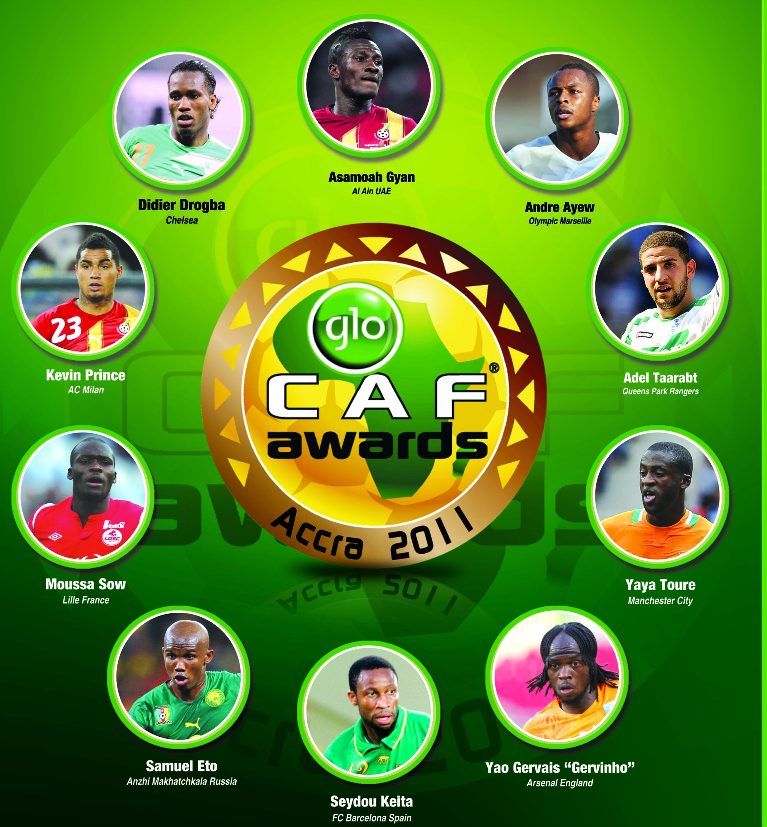 Ghanaians turn attention to prestigious Glo-Caf awards