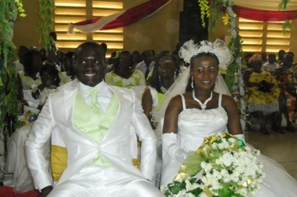Kotoko captain Brenya marries girlfriend in classy ceremony