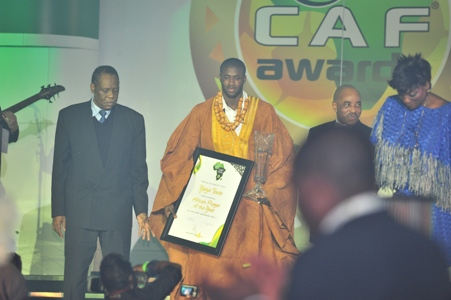 Yaya Toure crowned African Player of the Year