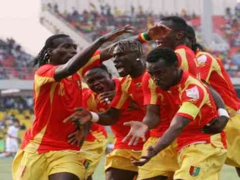 Ghana's AFCON opponents Guinea to camp in Ivory Coast