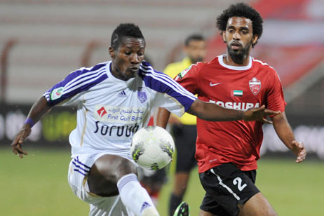 Gyan hits brace to send Al Ain through in President's Cup