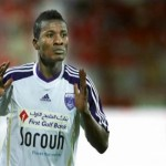 Video: Asamoah Gyan is joint top scorer in UAE