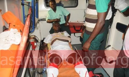 Kotoko allay Ahmed Toure injury fears