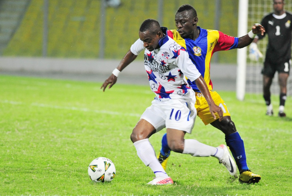 Hearts punish Sefa for Liberty red card