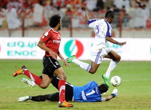 Video: Watch Asamoah Gyan's goal in the UAE last night