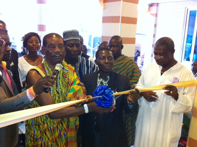 Pictures: Gerald Asamoah opens plush hotel in Ghana