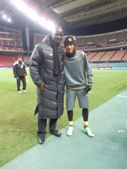 Pictures: Anthony Baffoe at Fifa Club World Cup