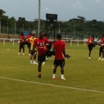 Video: Black Stars back in training for Guinea showdown