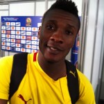 Asamoah Gyan mixed Zone reaction