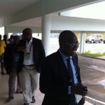 Video: Caf delegation arrival in Ghana camp