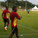 Video: Black Stars training session on Friday