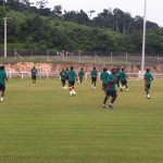 Video: Thursday's training session of the Black Stars