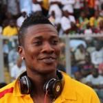 Asamoah Gyan lands in Black Stars camp