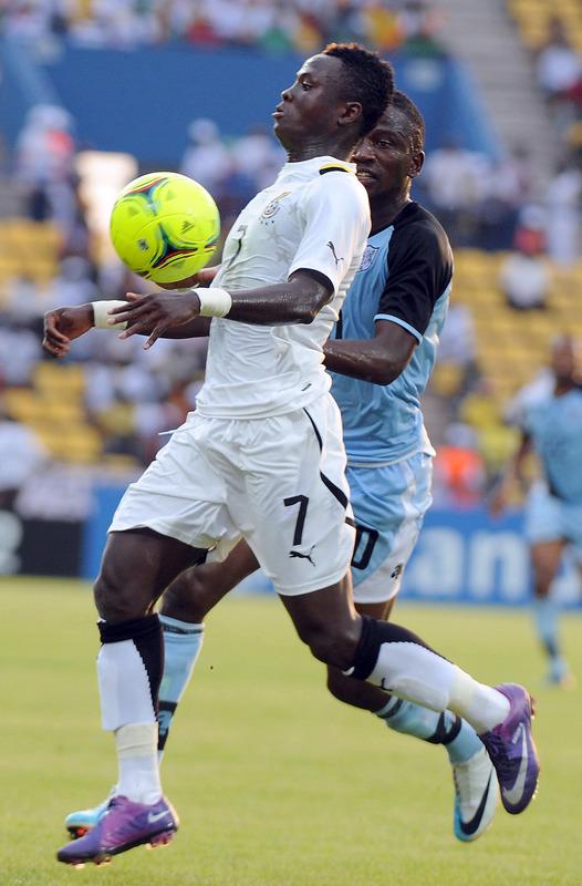 Pictures: Ghana versus Botswana